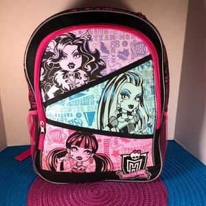 ⚡️Monster High ⚡️Backpack 🎒 ✨NEW✨ with 🏷tags!✨